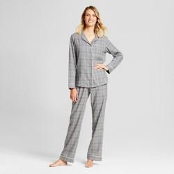 Women's 2pc Pajama Set - Gilligan & O'Malley™ Heather Gray
