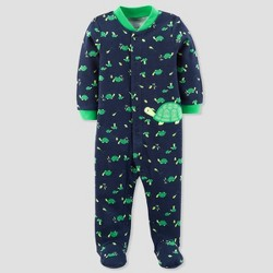 Baby Boys' Turtles Sleep N' Play - Just One You™ Made by Carter's® Navy/Green