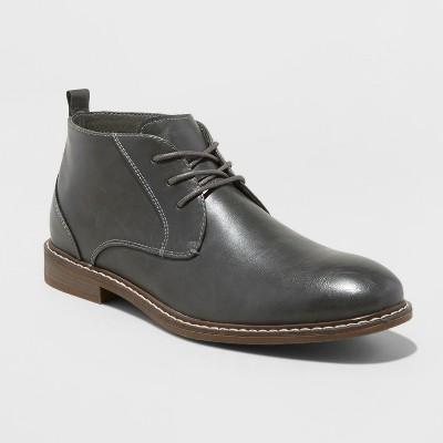 Men's Soho Cobbler Reed Grey Chukka Boot by So Ho Cobbler
