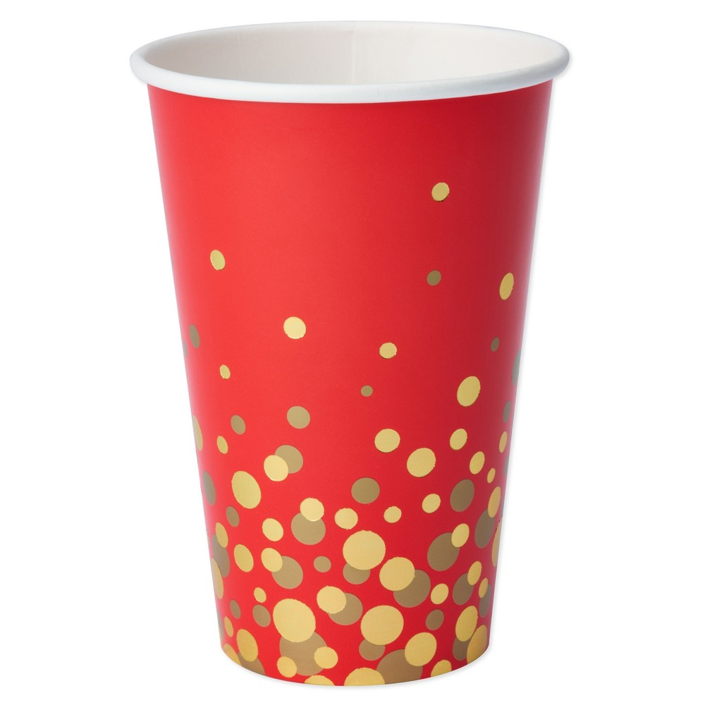 Papyrus Simple Dot Pattern Cups, Multi-Colored