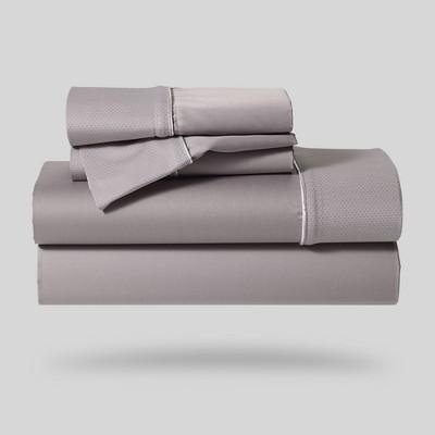 Hyper-Cotton Performance Sheet Set (Queen)Gray - Bedgear