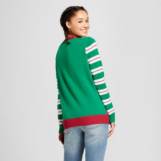 Women's Lightup Pug and Cookie Sweater - Ugly Christmas Sweater ...