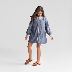 Girls' Denim Dress - art class™ Chambray