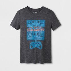 Boys' Short Sleeve T-Shirt - Cat & Jack™ Gray