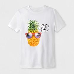 Boys' Short Sleeve T-Shirt - Cat & Jack™ White