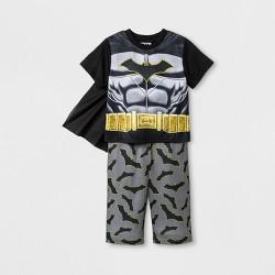 Baby Boys' Batman Uniform Pajama Set  - black