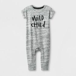 Baby Boys' Wild Child Romper - Cat & Jack™ Gray