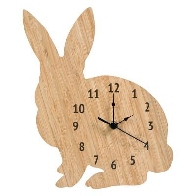 Trend Lab® Wall Clock - Bamboo Bunny
