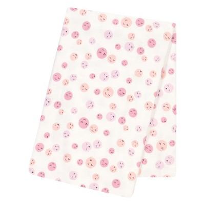 Trend Lab® Jumbo Deluxe Flannel Swaddle Blanket - Be Happy