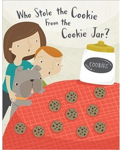 Who Stole the Cookie from the Cookie Jar? (Hardcover)