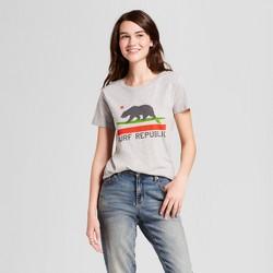 Women's California Surf Republic T-Shirt - Awake Gray