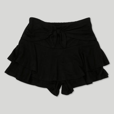Toddler Girls' Afton Street PRS Jersey Scooter Shorts - Black 12 M