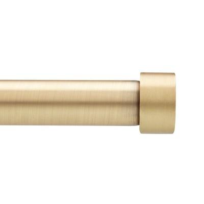 Umbra Cappa Drapery Rod Set Brass 66-120