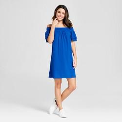 Women's Over the Shoulder Dress - Xhilaration™ Blue