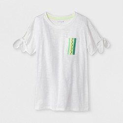 Girls' Tie Sleeve T-Shirt - Cat & Jack™