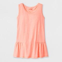 Girls' Sparkle Knit Peplum Tank Top - Cat & Jack™
