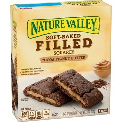 Nature Valley Cocoa Peanut Butter Soft-Baked Filled Squares - 7.1oz
