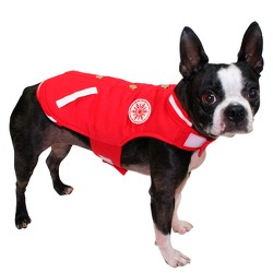 Varsity Dog Jacket - Red - Wondershop™