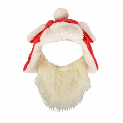 view Santa Hat With Beard Dog Costume Accessories - Wondershop on target.com. Opens in a new tab.