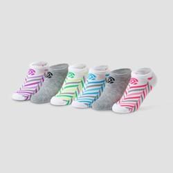 Girls' 6pk No Show Socks - C9 Champion®