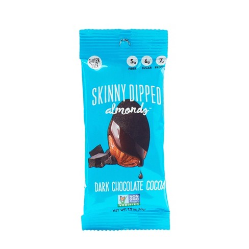Skinny Dipped Dark Chocolate Cocoa Almonds - 1.5oz - image 1 of 1