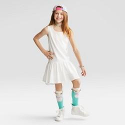 Girls' Eyelet Dress - Cat & Jack™ White