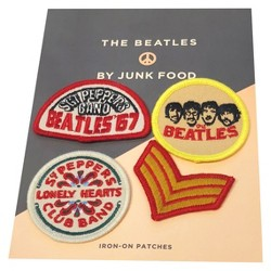 Junk Food Women's The Beatles Sgt. Pepper's Patches