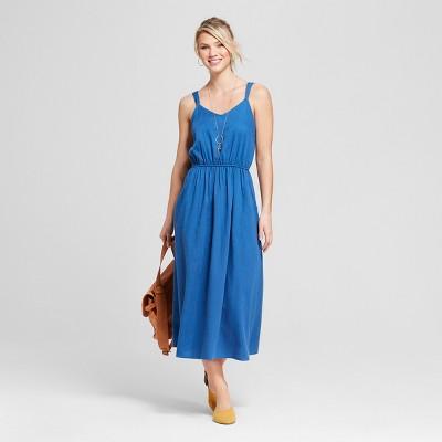 Women's Maxi Dress - Universal Thread™ Blue L