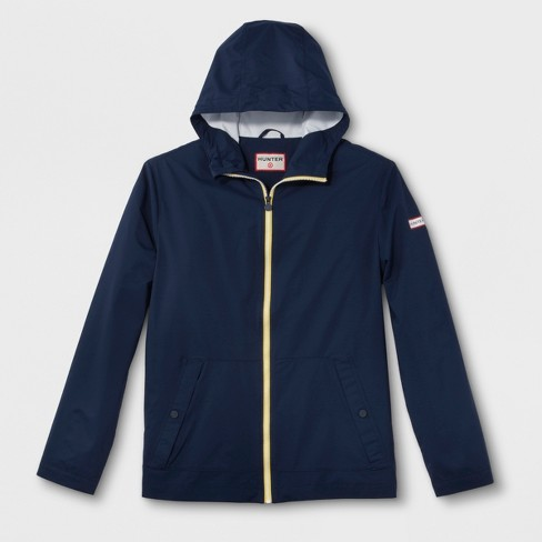 Hunter for Target Adult Unisex Packable Rain Coat - Navy - image 1 of 7