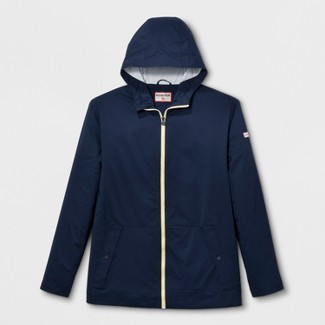 Hunter for Target Adult Unisex Plus Size Packable Rain Coat - Navy