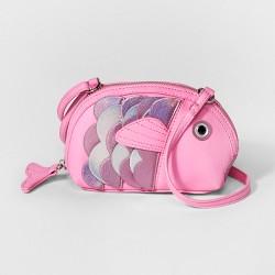 Girls' Fish Crossbody Bag - Cat & Jack™ Pink