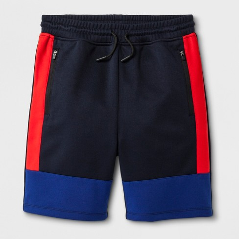 Boys' Jogger Pants - art class™ Navy/Red - image 1 of 2