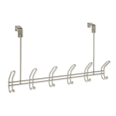 6 Over-The-Door Hook Silver - Threshold™