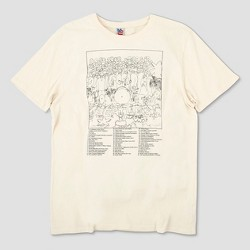 Junk Food Men's The Beatles Album Cover Short Sleeve T-shirt - Ivory