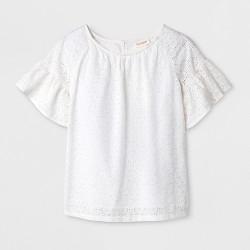 Girls' Short Sleeve  Top - Cat & Jack™
