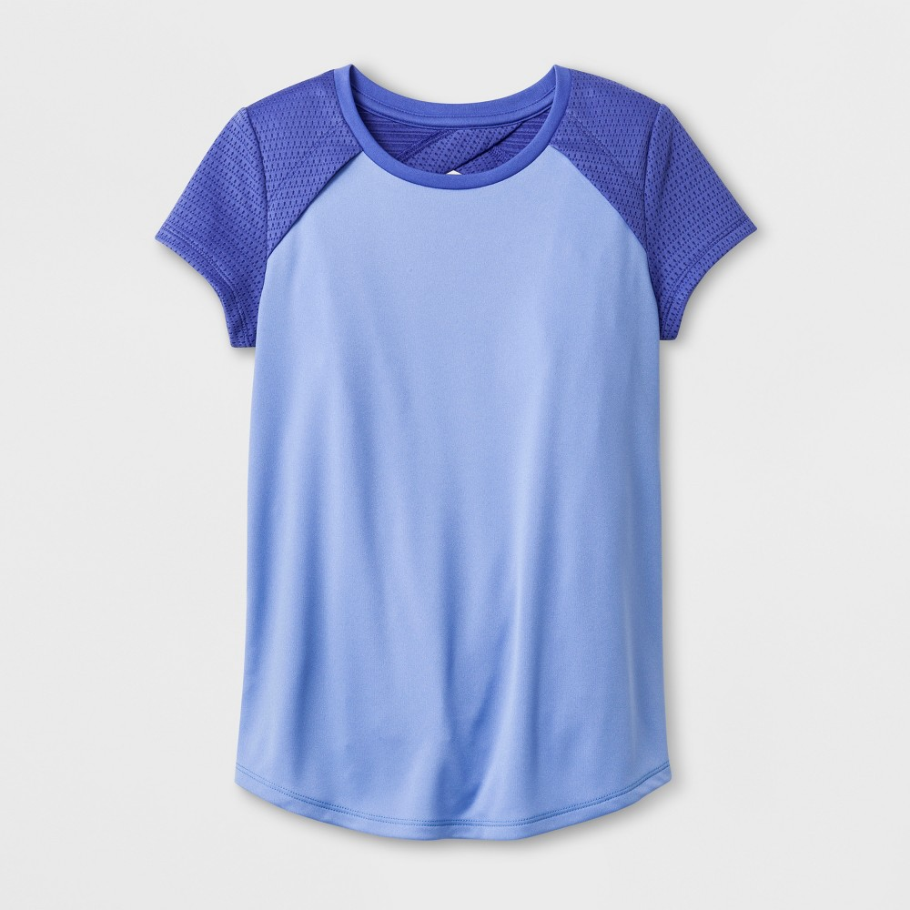 Girls' Keyhole T-shirt - C9 Champion Blue XL