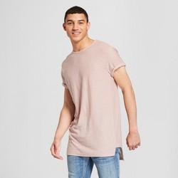 Men's Side Panel High Low Short Sleeve T-Shirt - Jackson™ Pink