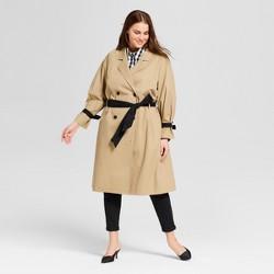 Women's Plus Size Modern Trench Coat - Who What Wear™