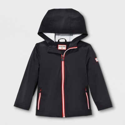 Hunter for Target Toddlers' Packable Rain Coat - Black 18 M