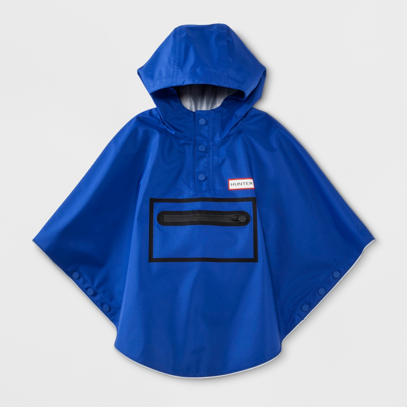 Hunter for Target Toddlers' Waterproof Packable Poncho - Blue - image 1 of 8