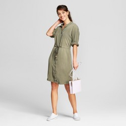 Women's Long Sleeve Shirtdress - A New Day™