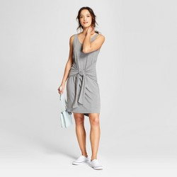Women's Sleeveless Tie-Front Dress - A New Day™
