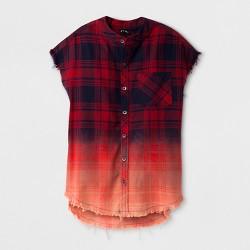 Boys' Woven Button Down Shirt - art class™ Red