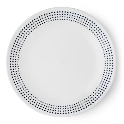 Corelle Vitrelle Salad Plate 8.5  - Navy/White