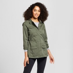 Women's Military Jacket - A New Day™ Olive