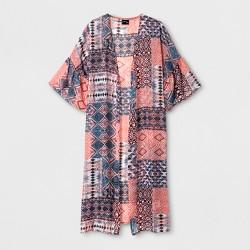 Girls' Printed 3/4 Sleeve Kimono - art class™ Pink