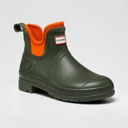 Hunter for Target Women's Waterproof Ankle Boots - Olive/Orange