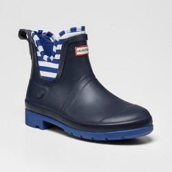 Hunter for Target Kids' Waterproof Ankle Rain Boots - Navy