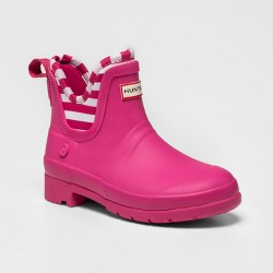 Hunter for Target Kids' Waterproof Ankle Rain Boots - Pink