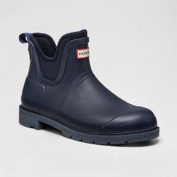 Hunter for Target Men's Waterproof Ankle Rain Boots - Navy